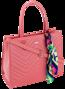 Torebka damska pikowana David Jones różowa CM5630